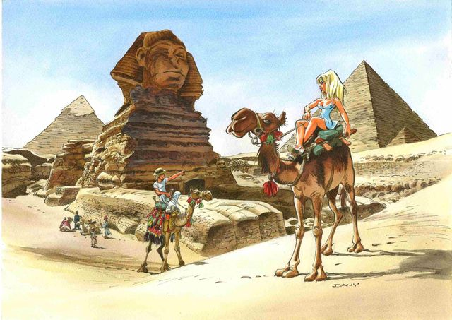 """Colombe : """"Les Pyramides"""""""