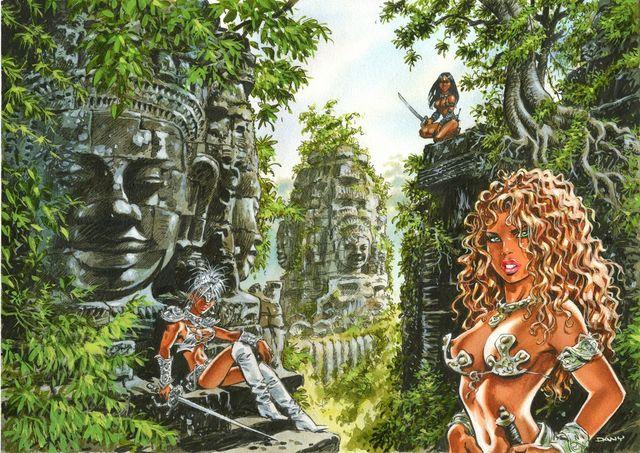 """Guerrières de Troy : """"Angkor Vat"""""""