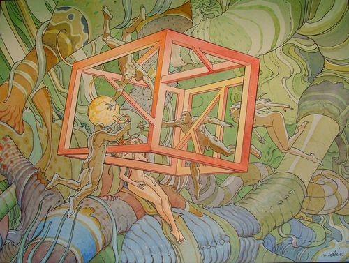 Faux Cube - Moebius