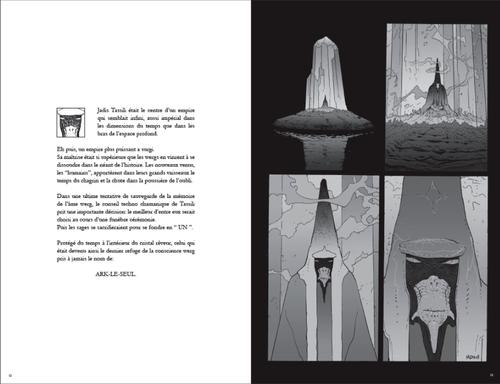 3 - Arzak, Destination Tassili : planche collector N&B