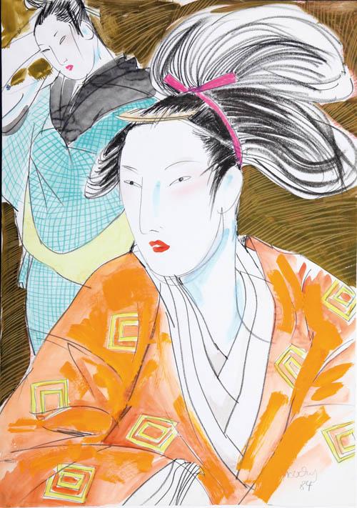 MOUCHY : Kabuki 2