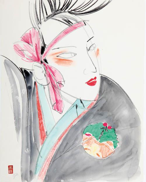 MOUCHY : Kabuki 4
