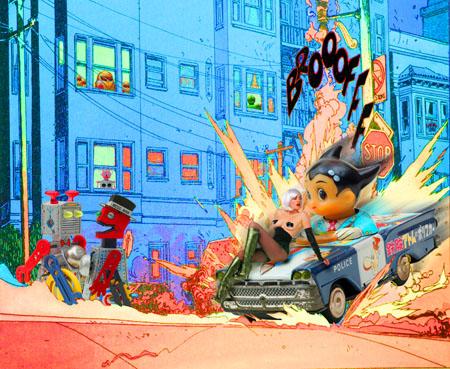 Les Envahisseurs : Broff, quel vacarme ! (Astro Boy)