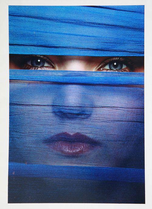 Uwe Ommer : Zoom bleu